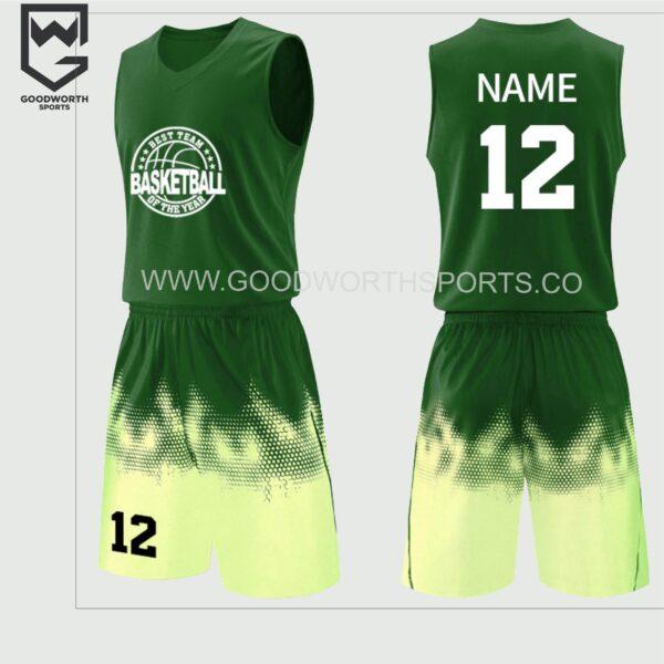 basketball jersey uniform maker