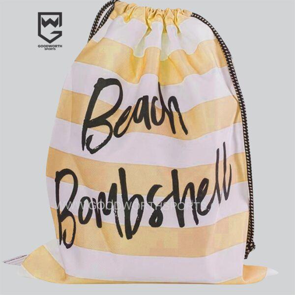 custom drawstring bags bulk