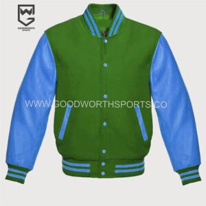 fleece varsity jacket wholesale