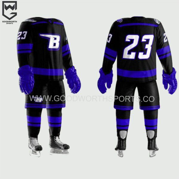 ice hockey jersey maker