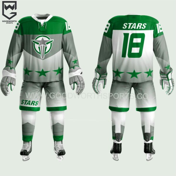 ice hockey team uniforms