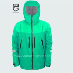 custom embroidered rain jackets
