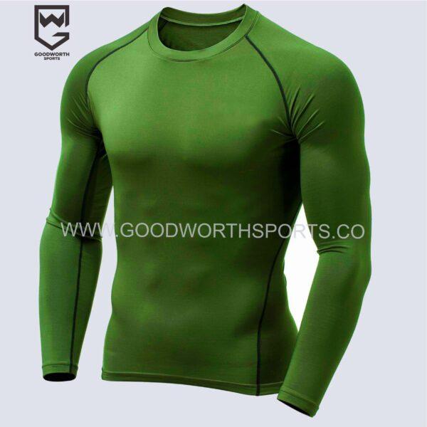 custom team compression shirts