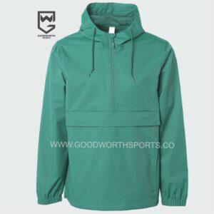 wholesale hooded rain jacket