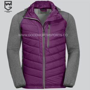 Hooded Wind Hybrid Jacket