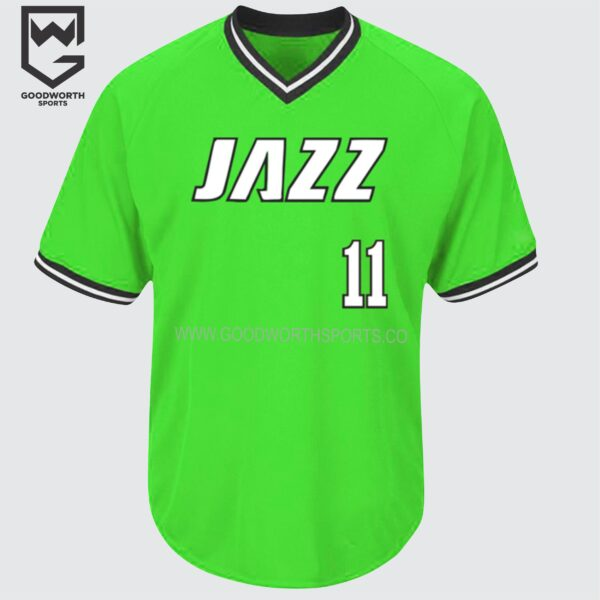 cotton baseball jersey wholesale