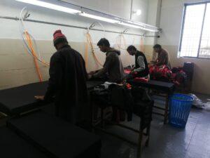 11 Pressing Department