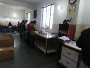 12 Packing Hall Department