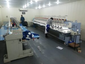 8 Embroidery Department